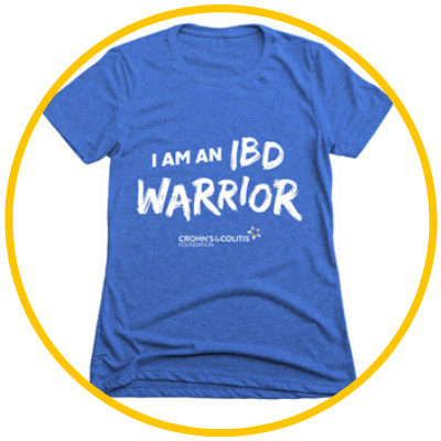 I am an IBD Warrior t-shirt