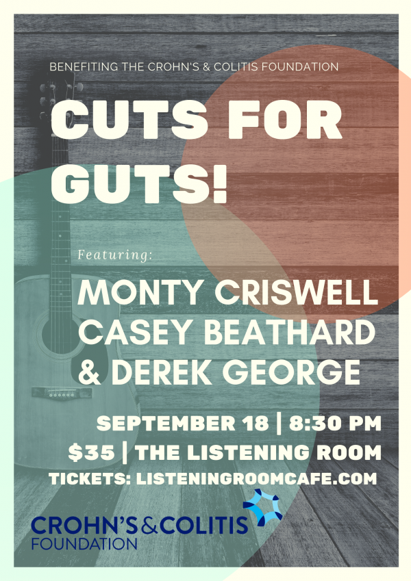 Cuts For Guts Fall Flyer